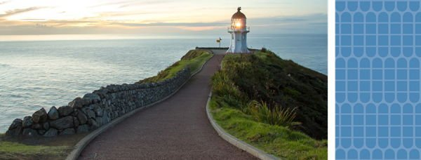 A lighthouse in NZ